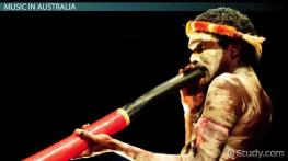 Music of Oceania: Characteristics and Instruments of Polynesian Voice & Australian Aboriginal Music