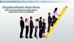 Organizational Objectives: Definition & Examples