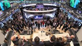 The New York Stock Exchange: Definition & Organization