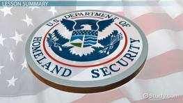 Department of Homeland Security: Definition, History & Agencies