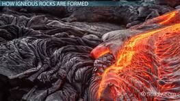 Types of Igneous Rocks: Lesson for Kids