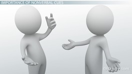 Nonverbal Cues in Communication: Examples & Overview