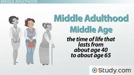 Physical Development in Middle Adulthood