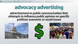 Advocacy Advertising: Definition & Examples