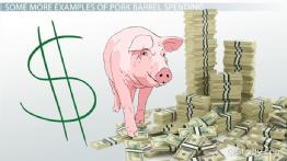 What is Pork Barrel Spending? - Definition & Examples