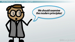 Postmodern Society: Definition & Concept