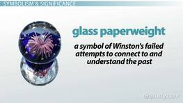 Glass Paperweight in 1984: Role & Significance