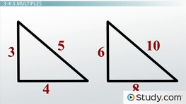 Properties of 3-4-5 Triangles: Definition and Uses