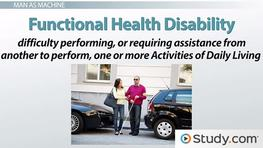 Functional Health & Disability: Definition & Major Issues
