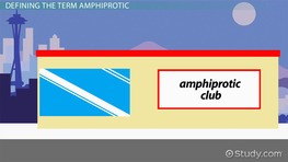 Amphiprotic Substances: Definition & Examples