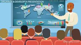 Organizing & Developing an Effective Presentation