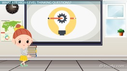 Higher Level Thinking Questions for Reading