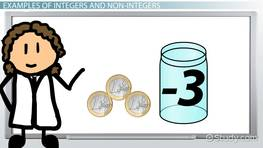 What are Integers? - Definition & Examples