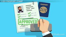 What is an I-551 Passport Stamp?