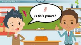 ESL Possessive Pronouns: Games & Activities