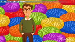 Textile Yarns: Definition, Types & Classification