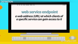 What is Web Service Endpoint? - Definition & Concept