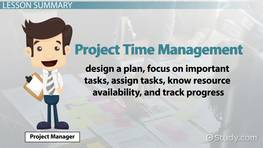 Project Time Management: Definition, Process & Techniques