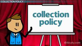Monitoring Receivables in a Collection Policy