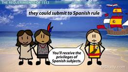 The 'Requerimiento' of 1513: Definition & History