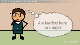 Classical Leadership: Theories, Overview