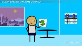 Comprehensive Income: Definition & Example