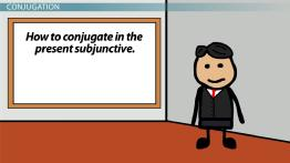 The Present Subjunctive's Regular Formation in Spanish