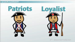 Image result for patriots and loyalists