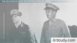 Post-War Asia: Korea's Partition & Reconstruction of Japan's Government