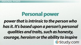 Power Types in Leadership: Formal and Personal