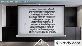 Aligning HRM and Organizational Strategy