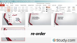 Understanding the Purposes of the Review and View Menus in PowerPoint