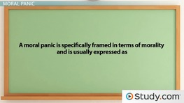 Mass Hysteria & Moral Panic: Definitions, Causes & Examples