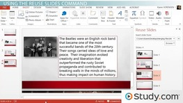 Combine Content from Multiple Presentations in PowerPoint