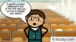 what is the purpose of a thesis statement in a speech A strong thesis statement is key to writing a persuasive essay the thesis statement presents your topic to the reader, provides your opinion on that topic and.