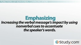 Understanding the Nonverbal Communication of Group Members
