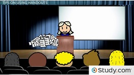 Tips for Using Effective Handouts in a Presentation