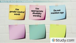 Using Nondiscriminatory Language in Business Communication