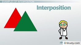 Interposition In Psychology: Definition U0026 Examples