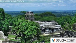 Mayan Civilization: Economy, Politics, Culture & Religion