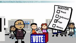 What Are Preference Ballots and Preference Schedules?