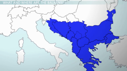 Conflict in the Balkans: Causes & Events