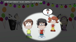 How Different Tasks Impact Attention