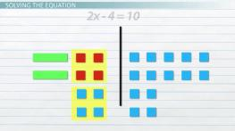 How to Use Algebra Tiles to Model & Solve Equations