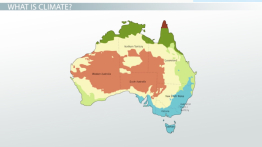 Major Climates of Australia & the Pacific Islands