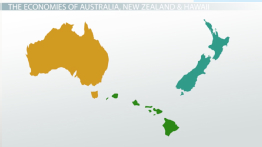 Economies of Australia & the Pacific Islands