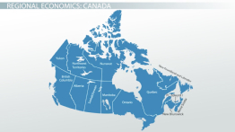 Economic Characteristics of Canada's Different Regions