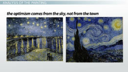 Van Gogh's Starry Night: Description, Analysis & Facts