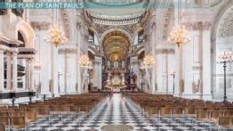 The Architecture of Saint Paul's Cathedral in London