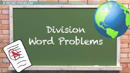 Solving Word Problems with Algebraic Division Expressions